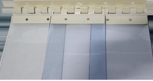 MS powder coated PVC Curtain fixture