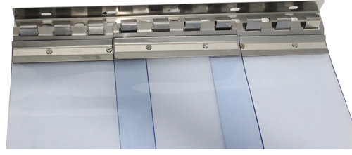SS Fixture for PVC Strip Curtains