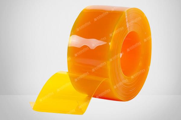 Yellow PVC Curtain