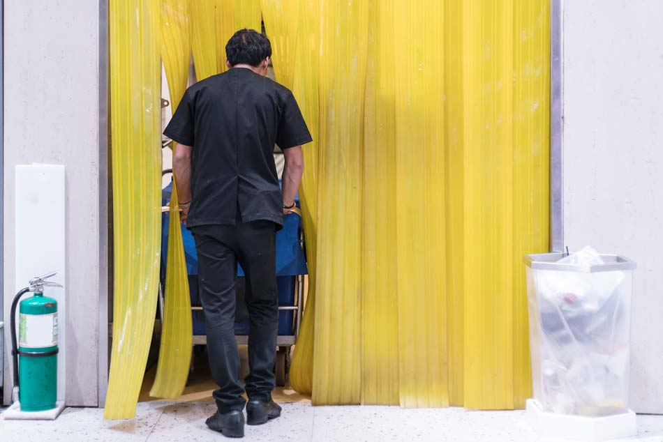 Strip Curtains for clean Premises